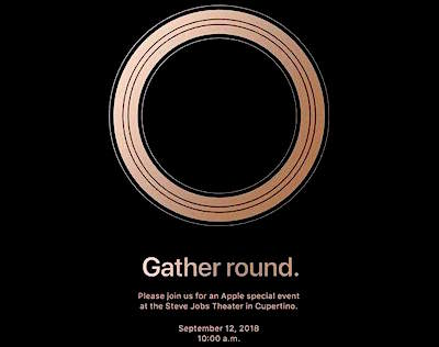Презентация Apple 12 сентября 2018 - «Gather Round» - All about Apple